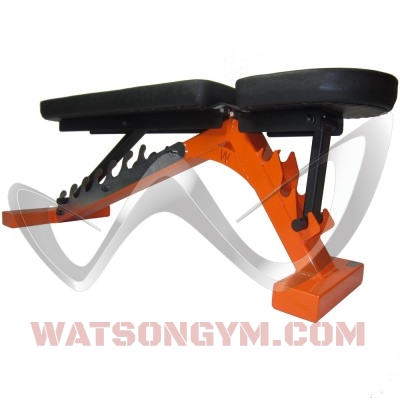 Adjustable Bench orange