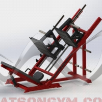 Animal Leg Press with Dual Carriages