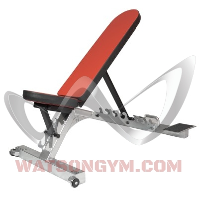 Animal Adjustable Bench with Spotters Platforms