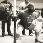 Louie Simmons - Powerlifting Legend - Squatting