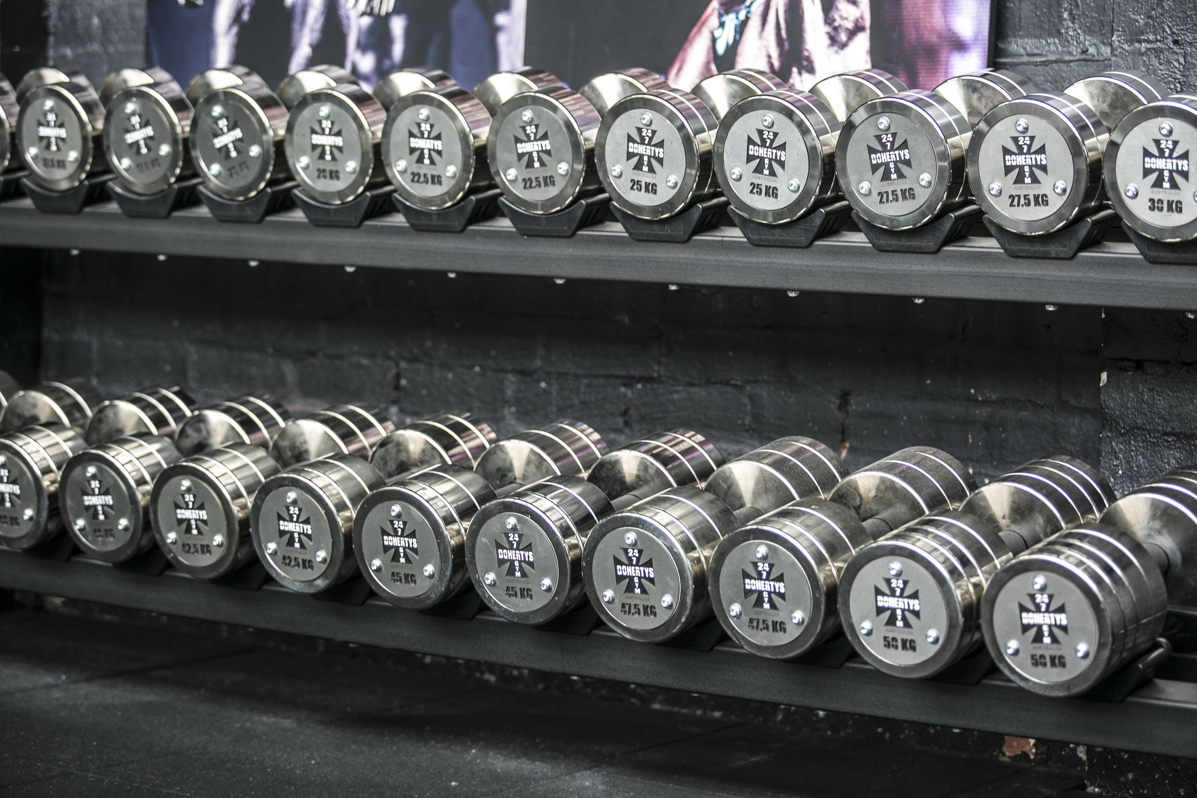 Trident Athletics - Watson Pro Dumbbells - Saving Space