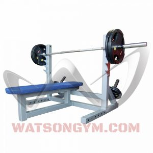 Animal Flat Bench with Extending Bar Catchers