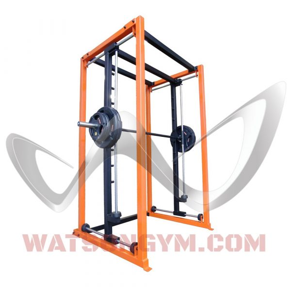 Four-Way Plate Load Smith Machine with Horizontal & Vertical Stops