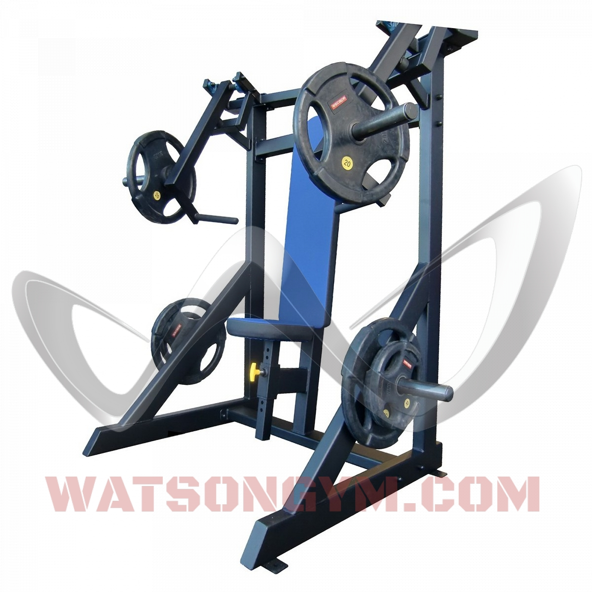 Plate loaded chest press watson gym equipment
