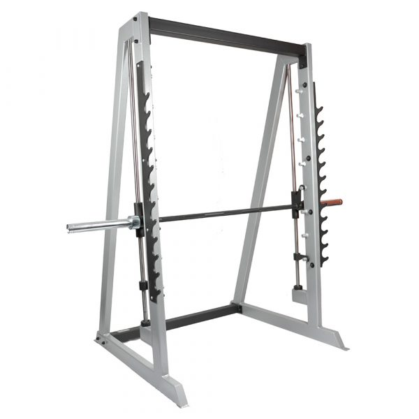 Smith Machine With Gun Rack with 4 x Weight Storage