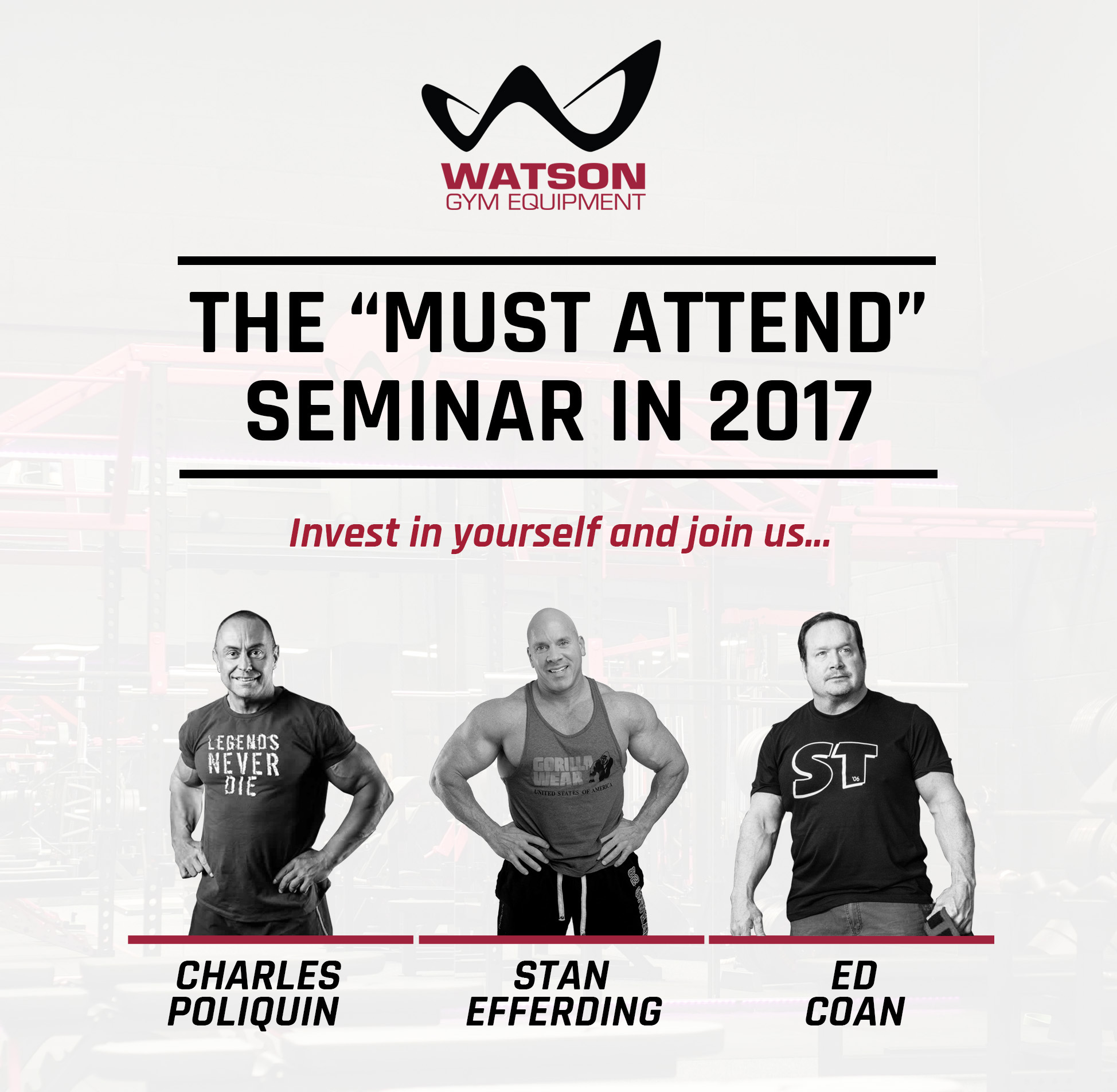 Watson seminar with charles stan and ed